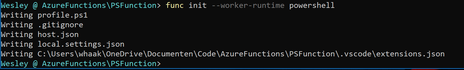 Introduction to PowerShell on Azure Functions