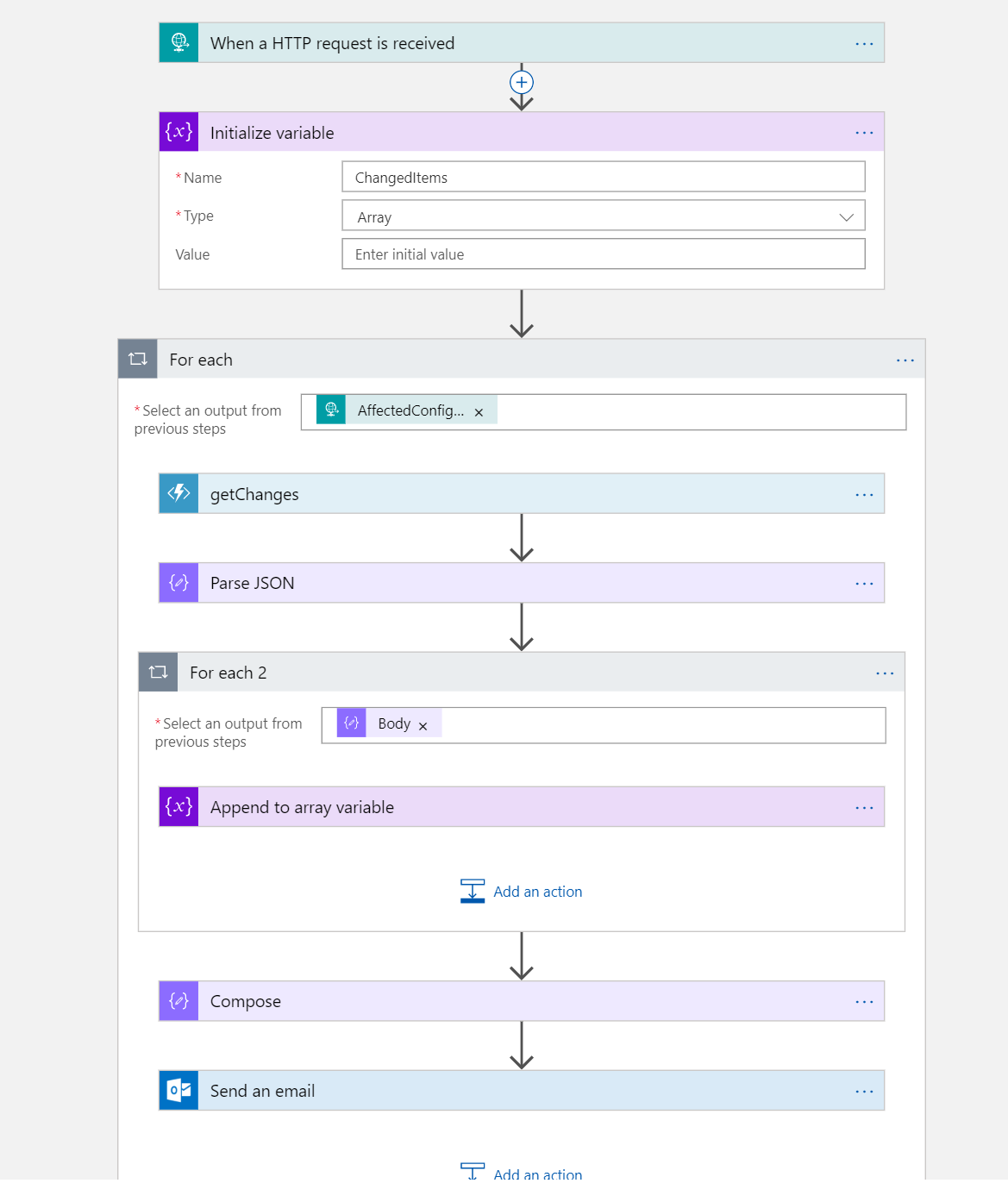 Automating change detection using Resource Graph and Change