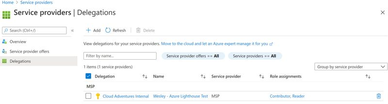 Azure Lighthouse - Control which managing tenants can be delegated to